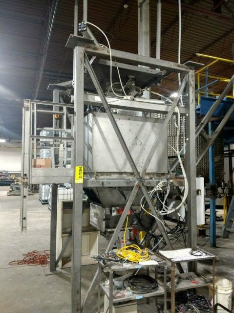 Spiroflow PC4SS Bag Unloading and Conveying System