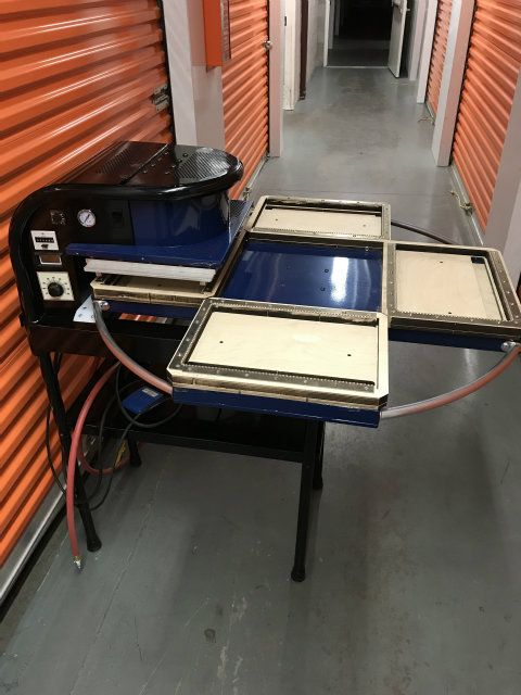 Powerpak Century Press 4 Station Blister Sealer