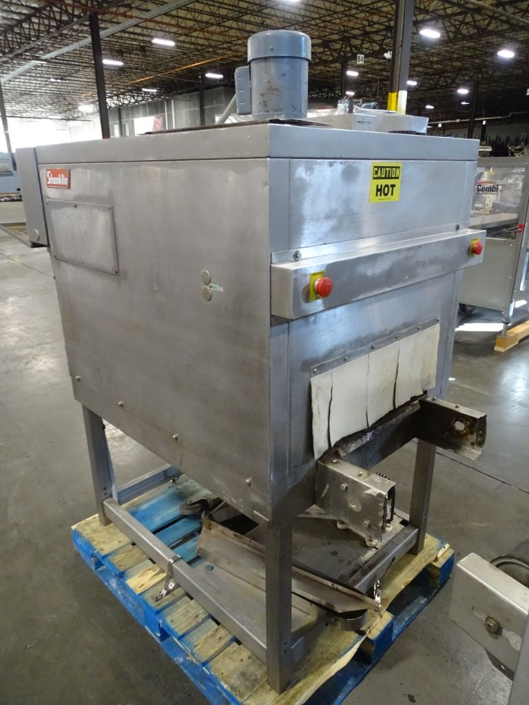 Shanklin T-7XLSS Stainless Heat Tunnel 22