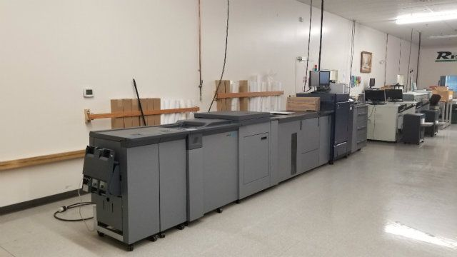 Used KM 6100 Konica KM C6100 High Volume Digital Press System