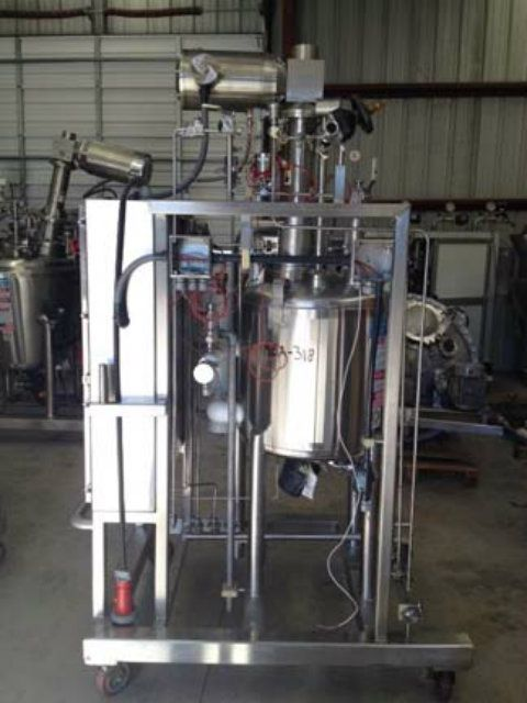 DCI 26 Gal 316L Stainless Steel Reactor Mix Tank