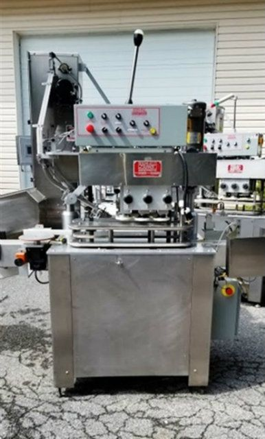 Kapsall A Automatic 6 Spindle Capper with Feeder