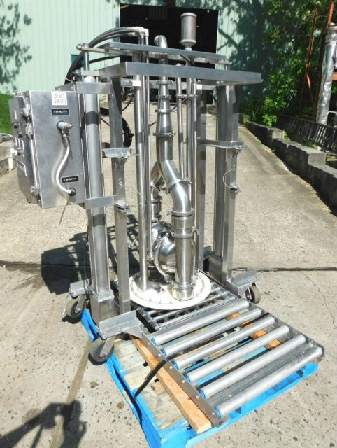 Murzan DUS50 Stainless Steel Drum Unloading System