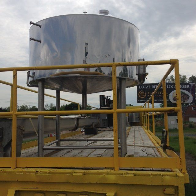 375 Gallon Stainless Steel Fermenting Tank