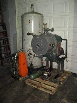 D16 Cornell Versator SS W Vacuum Pump