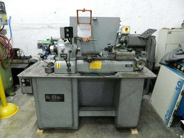 Hardinge 1 HP Lathe Mill Model DV 59