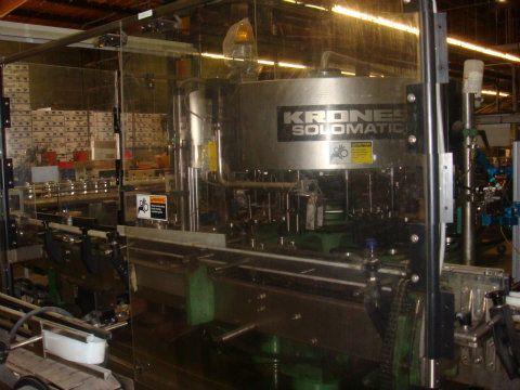 Krones Solomatic Labeler Model 1240-20-6-48-4