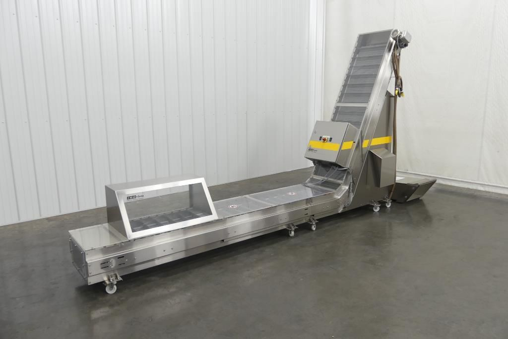 IMDvista Cleated Incline Closure Testing Conveyor