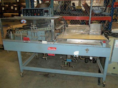 used shanklin a 27a heat sealer shrink wrapper rh sigmaequipment com Omni Shanklin Wrapper Shanklin Heat Tunnel Parts