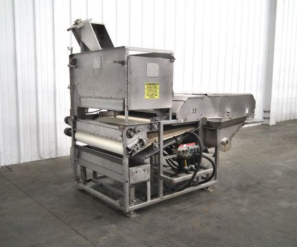 Used stein breading system with overflow return belt