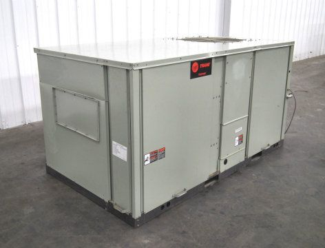 Trane Voyager Roof Top Refigerator TCH120C400AB