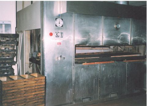Reed 20 Pan Gas Fired Oven