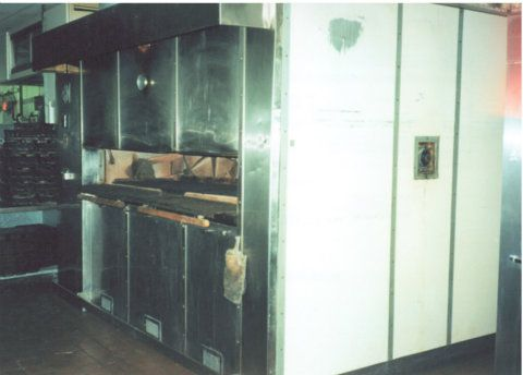 Reed 30 Pan Gas Fired Wholesaler Oven