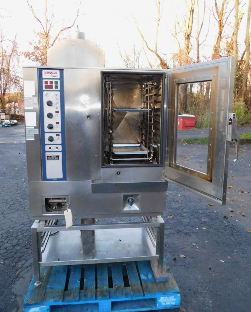 Rational CM101G Gas Fired Combi Steamer Oven