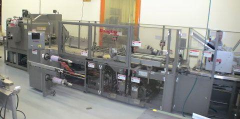 Douglas Twin Lane SemiAutomatic Shrink Overwrapper
