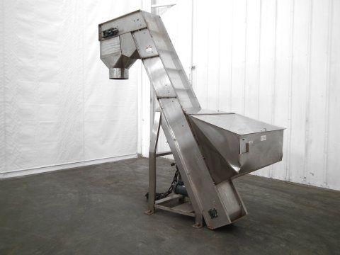Anderson Stainless Steel Hopper Elevator Conveyor