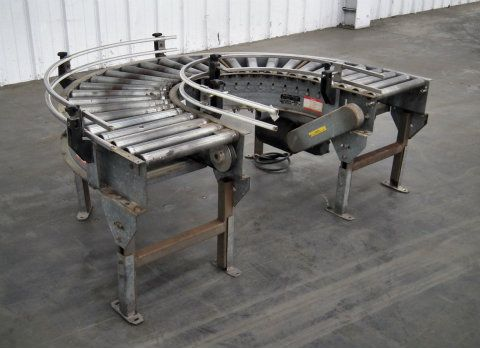 Valley Forge 180 Degree Curve Roller Conveyor