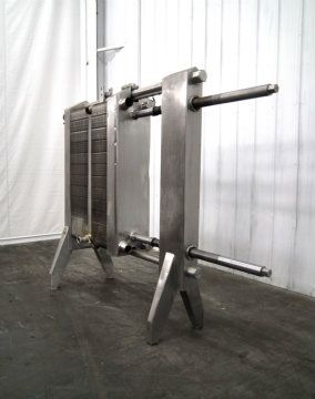 APV Crepaco R51 Plate and Frame Heat Exchanger