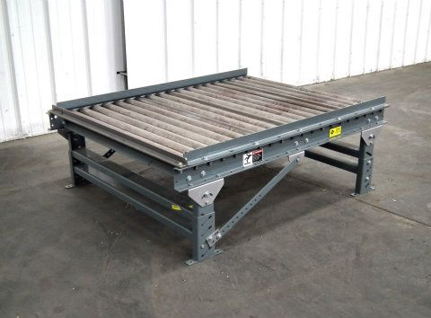 Used Acs Gravity Roller Pallet Conveyor