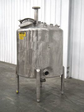 Scott Turbon 355 Gallon Top Mounted Mixing Tank