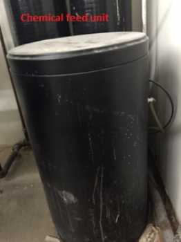 50 gallon chemical feed unit photo