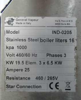 22 Steam Master 195 kW IND-0205
