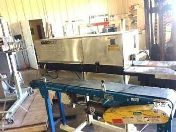 Used continuous band bag sealer equipment page 2 band rite model 6000 band sealer with conveyor fandeluxe Choice Image