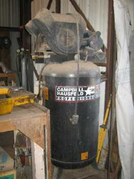 5 HP Two Stage Air Compressor photo