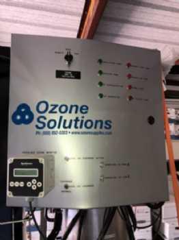 Used TS-40 Ozone Solutions TS 40 Grams/Hr Turn Key Generator
