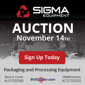 SIGMA's Quarterly Auction Fall 2019
