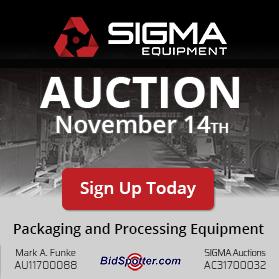 SIGMA's Quarterly Auction Fall 2019