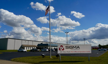 SIGMA Equipment 3001 Maxx Road Main Office and Operations Center
